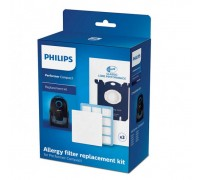 Комплект филтри за прахосмукачка PHILIPS FC8074/02, За гамата Performer Compact