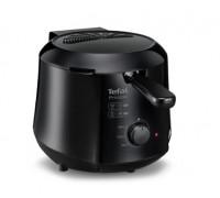 Фритюрник Tefal Minicompact FF230831 Principio, 1000W, 0.6 кг, 1.2 л, Регулируем термостат, Черен