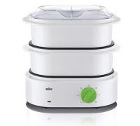 Уред за готвене на пара BRAUN FS3000, 850 W, Автоматично изключване и автоматичен таймер