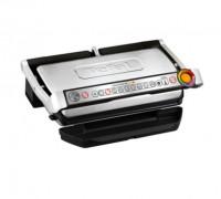 Електрическа скара Tefal OPTIGRILL+ XL GC722D34, 2000W, 9 автоамтични програми за готвене, 4 степени на готвене, Подвижни плочи, Инокс
