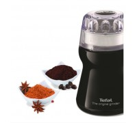 Кафемелачка Tefal GT110838, 180W, Черен цвят, За мелене на кафе, подправки и обелени плодове