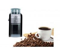 Кафемелачка Krups GVX242, Coffee Grinder Pro Edition, Черен/Хром, 110W