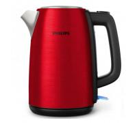 Ел. кана PHILIPS HD9352/60, 1.7 л, Автоматично изключване, 2200 W, Червена