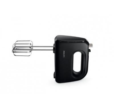 Миксер PHILIPS HR3705/10, 300 W, Турбо бутон, 5 скорости, Лентови бъркалки и куки за тесто
