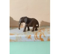 Африкански фигурки от Уганда - слон, носорог, лъвица и антилопа