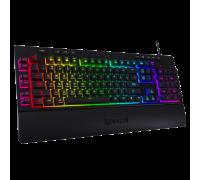 RGB геймърска клавиатура Redragon Shiva K512RGB-BK