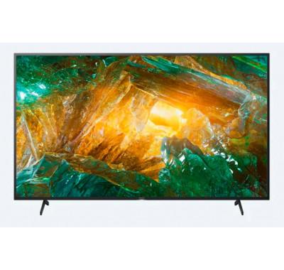"Телевизор Sony BRAVIA KD-43XH8096 43"", 4K HDR TV, Edge LED with Frame dimming, 4K HDR Processor X1, Dolby Atmos, DVB-C / DVB-T/T2 / DVB-S/S2, USB, Android TV, Гласов контрол, Черен"