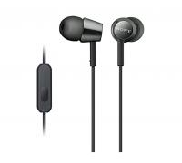 Слушалки Sony Headset MDR-EX155AP (MDREX155APB.AE) Черни
