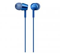 Слушалки Sony Headset MDR-EX155AP (MDREX155APLI.AE) Сини