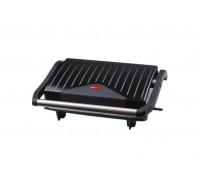 Сандвич преса Muhler MHT-888G, Плочи-грил, 750W, Автоматичен контрол на температурата, Незалепващо п...