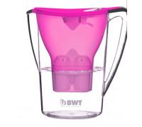 Кана за филтриране на вода BWT PENGUIN NK-B702, Включен филтър, BPA-free, Цвят боровинка