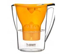 Кана за филтриране на вода BWT PENGUIN NK-B705, Включен филтър, BPA-free, Цвят манго