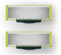Сменяемо ножче OneBlade PHILIPS QP220/50, 2 броя, Аксесоар за хибриден уред за брада Philips OneBlad...