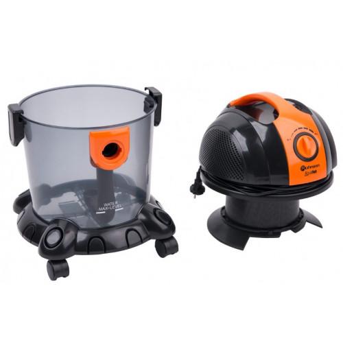 Прахосмукачка с воден филтър Rohnson R-144, Мощност 1550W, За сухо и мокро почистване, 15 литра