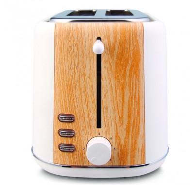 Тостер Rohnson R-2155 Woody, Мощност 800W, Ненагряващ се корпус