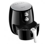 Уред за готвене с горещ въздух Rohnson R-2812, До 80 % по-малко мазнина, Защита от прегряване, 1500W, Таймер, Автоматично изключване