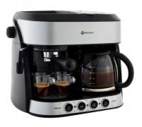 Кафемашина 2 в 1 Rohnson R-970, 15 бара италианска помпа, За еспресо, капучино и шварц кафе