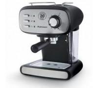 Кафе машина за еспресо Rohnson R-984, 850W, 20 бара помпа, Система за защита от прегряване и свръхналягане, Дюза за капучино, ERP система