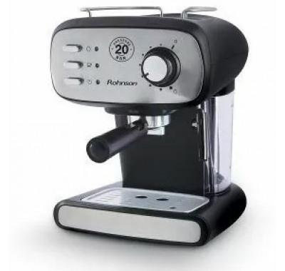 Кафемашина за еспресо Rohnson R-984, 850W, 20 бара помпа, Перфектен каймак, Дюза за капучино
