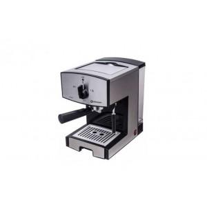 Кафемашина Rohnson R-986 Barista, 850 W, Двоен s/s филтър, 1.6 l резервоар за вода, Пяна под високо ...
