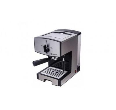 Кафемашина Rohnson R-986 Barista, 850 W, Двоен s/s филтър, 1.6 l резервоар за вода, Пяна под високо налягане за капучино