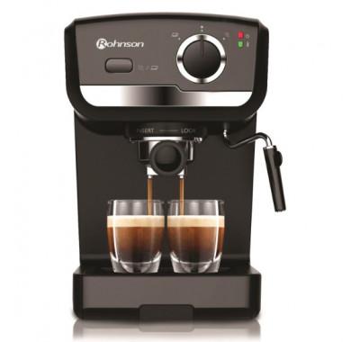 Кафемашина за еспресо Rohnson R-969, 925 W, 15 бара, Приставка за каймак