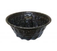 Мини форма за кекс RIV 2627-10, 15.2х6.0 см, Незалепващо покритие, Кафяв
