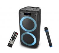 Парти колонa Rohnson RS-1200 Raver, Мощност 400 W, FM радио, AUX, Bluetooth режим, USB и TF карта