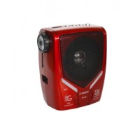 Радио Rising RS-590, Щипка за колан, Вход за микрофон, LED фенер, USB вход & SD слот, Караоке фу...
