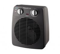 Вентилаторна печка Rowenta SO2210F0, Регулируем термостат, 2000W, 2 степени на мощност, черен