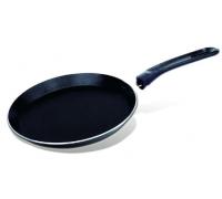 Тиган за палачинки SAPIR SP 1322 A24, 24 см, Незалепващо покритие, Черен
