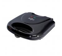 Тостер за сандвичи SAPIR SP 1442 AF, 750W, Грил плочи, Черен