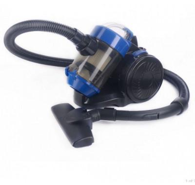 Прахосмукачка без торба SAPIR SP 1001 AW, 800 W, 2 литра, HEPA филтър, Приставки, Синя