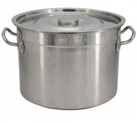Казан с капак SAPIR SP 1211 B60S, 62 см, 84.5 литра, Неръждаема стомана