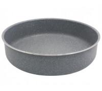 Тава за печене SAPIR SP 1222 CS28, 28 см, Мраморно покритие, Сива