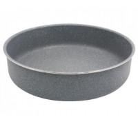Тава за печене SAPIR SP 1222 CS32, 32 см, Мраморно покритие, Сива