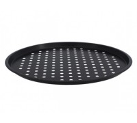 Тава за пица с незалепващо покритие SAPIR SP 1223 P, 33 см, без PFOA, Черна