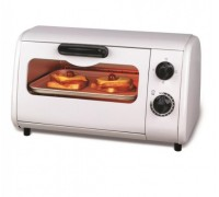 Тостер за сандвичи - фурна SAPIR SP 1441 P, 600 W, 9 литра, Таймер, Тавичка, Бял
