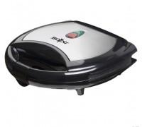 Тостер за сандвичи с мраморно покритие SAPIR SP 1442 AKM, 750 W, Грил плочи, Черен