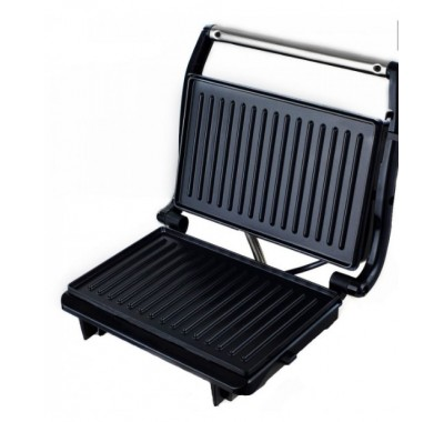 Тостер преса за сандвичи SAPIR SP 1442 PD, 750 W, 2 филии, Грил плочи, Черен