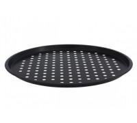 Тава за пица с незалепващо покритие Outperform TXG 608F, 37 см, Черна