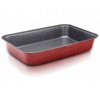 Тава за печене ZEPHYR Red Passion ZP 1222 ECS32, 32 см, Мраморно покритие, Червена