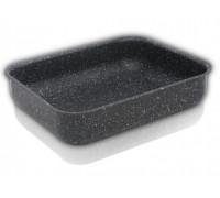 Тава за печене ZEPHYR ZP 1222 FS32, Мраморно покритие, 32 см, Черна
