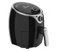 Фритюрник с горещ въздух Elekom ЕК-20135, 1400 W, Светлинни индикатори, Кошница с незалепващо покритие, Вместимост на кошницата - 3,5 Л