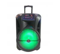 Преносими Високоговорители Elekom ЕК-2602 - 500W, 230V/50Hz и 2 безжични микрофона