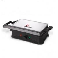 Контактен грил Elekom ЕК-8005, 1400 W, Двоен светлинен индикатор, Големи плочи за печене с незалепва...