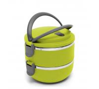 Термо Кутия за пренос на храна Elekom EK-GH2 2 отделения, неръждаема стомана, избор от 3 цвята