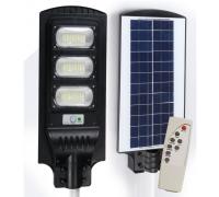 Външна Соларна Лампа Elekom ЕК-YT90, 90 W, 2 режима и Дистанционно управление