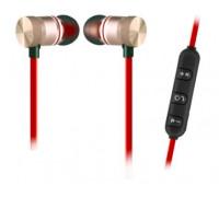 Безжични слушалки Elekom EK-027A, Метални глави с магнитно слепване, Зареждане: Микро USB 5 V, Време...