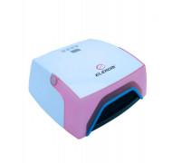 Професионална UV LED лампа Elekom ЕК-050, 12 W, LED дисплей, за педикюр и маникюр, Фиксирано време-3...